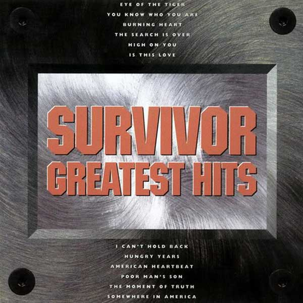 SURVIVOR: GREATEST HITS – 1993 (Scotti Brothers)